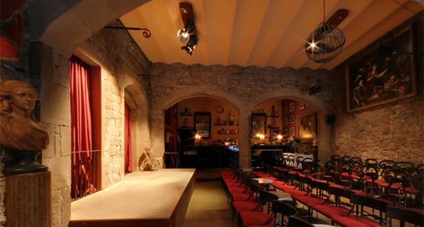 The wondrous Espai Barroc, where you can catch free jazz every Wednesday night