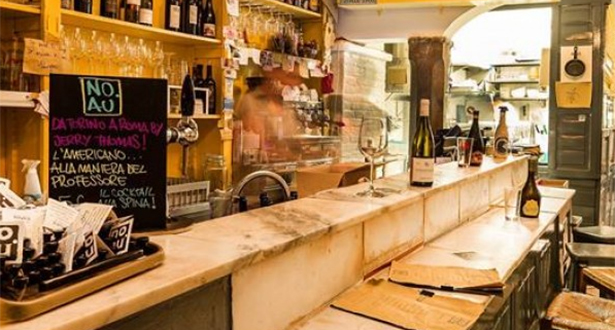 Italian craft beer and chacuterie plates can be found at artsy bar NO.AU