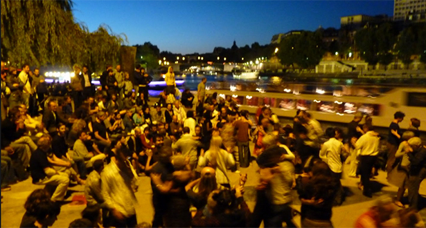 Free tango lesson by the Sienne - the ultimate Romantic experience
