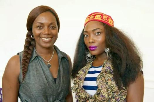 Angèle Etoundi Essamba & Cynthia