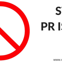 MMPR FOCUS: PUBLIC RELATIONS IS NOT...