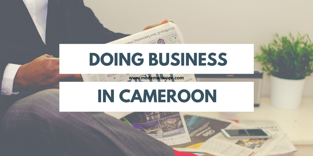doing business in cameroon This page summarizes doing business data for cameroon it includes rankings,  data for key regulations and comparisons with other economies.